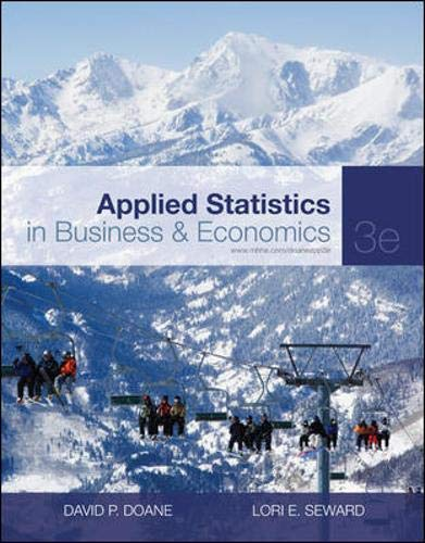 9780077398231: Applied Statistics in Business and Economics include Connect