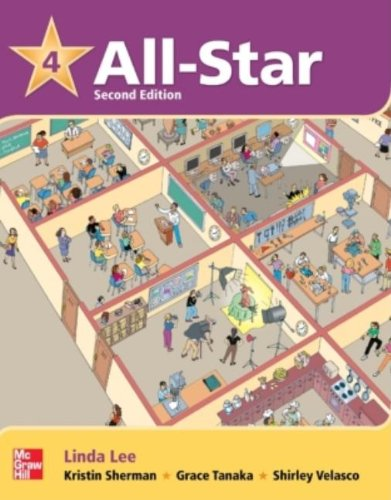 9780077399924: All Star Level 4 Student Book with Work-Out CD-ROM