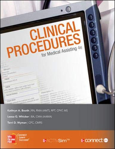 9780077399993: Medical Assisting: Clinical Procedures with Student CD