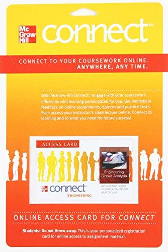 Connect Access Card for Engineering Circuit Analysis: Hayt Professor Emeritus,