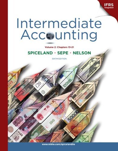 9780077400170: Intermediate Accounting Vol 2 (Ch 13-21) with British Airways Annual Report + Connect Plus