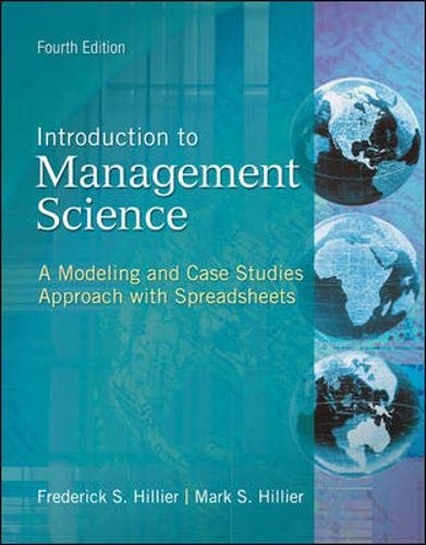 9780077400309: MP Introduction to Management Science with Student CD and Crystal Ball passcode card (The Mcgraw-Hill/Irwin Series Operations and Decision Sciences)