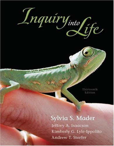 9780077403201: Inquiry Into Life [With Access Code]