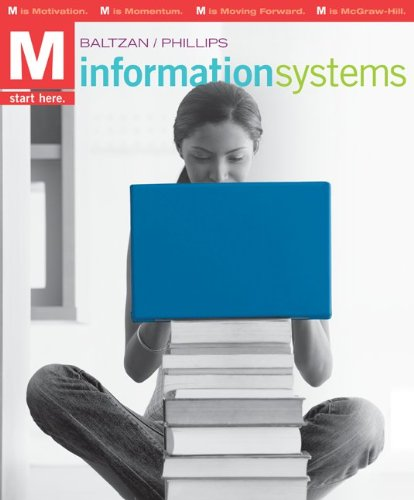 9780077403546: M: Information Systems with Connect Plus