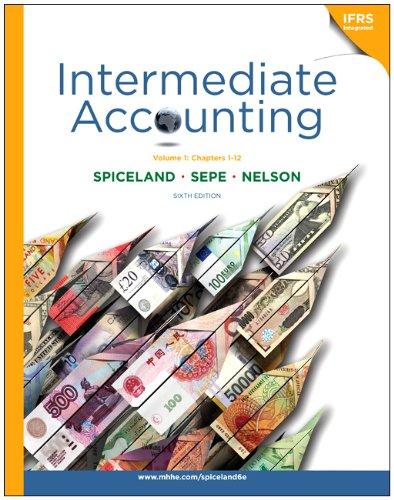 9780077403614: Loose-leaf Intermediate Accounting, Volume 1 (ch.1-12)
