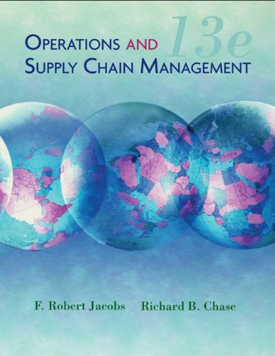 9780077403652: Operations and Supply Chain Management