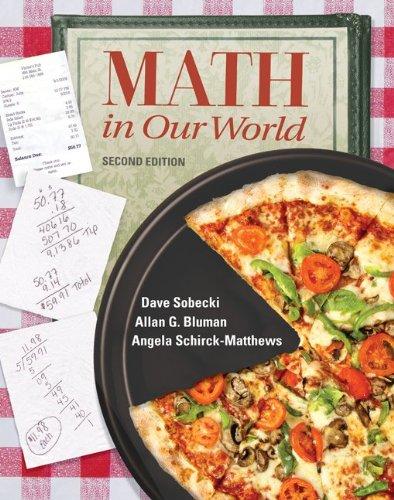 Loose Leaf Version: Math In Our World: David Sobecki