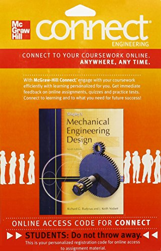 9780077404536: Connect Engineering Access Card for Mechanical Engineering Design