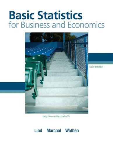 9780077404703: Basic Statistics for Business and Economics