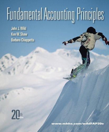 9780077405144: Loose-Leaf Fundamental Accounting Principles