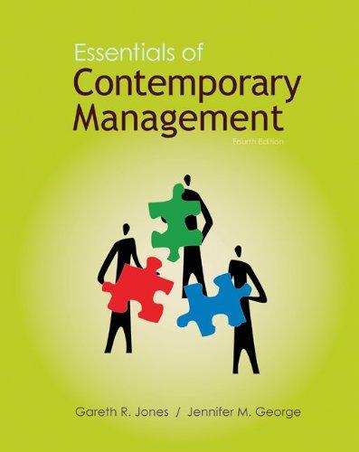 9780077405465: Loose-Leaf Essentials of Contemporary Management