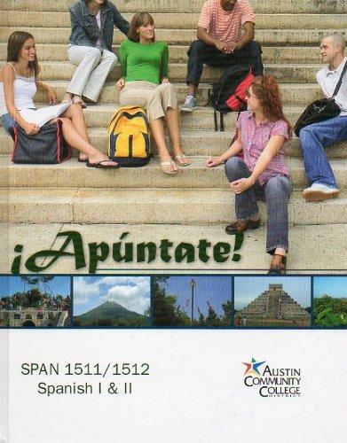 Apuntate! (SPAN 1511/1512, Spanish I & II): Ana Maria Perez-Girones
