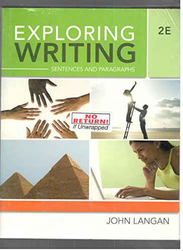 9780077406707: Exploring Writing : Sentences and Paragraphs - With Access