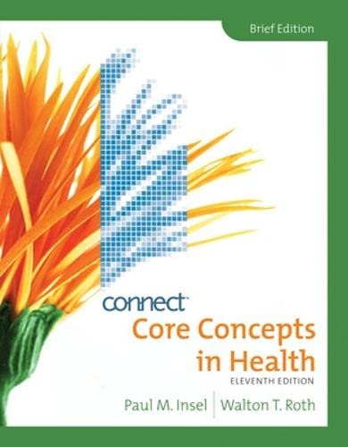 9780077407322: Core Concepts in Health, Brief with Connect Plus Personal Health Access Card