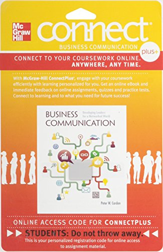 9780077407353: Connect 1-Semester Access Card for Business Communication