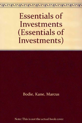 9780077408053: Essentials of Investments