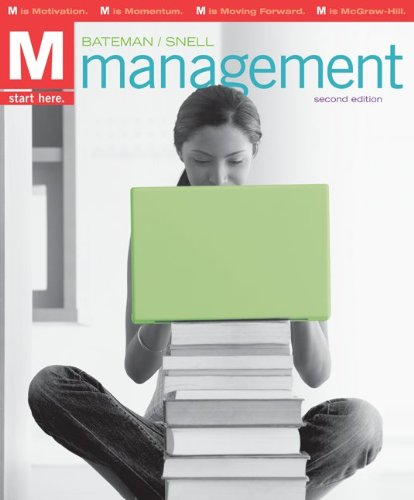 9780077408763: M: Management (Second Edition)