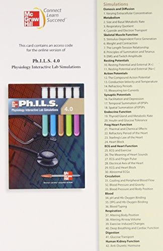 9780077409548: Ph.I.L.S. 4.0 Student Access Card