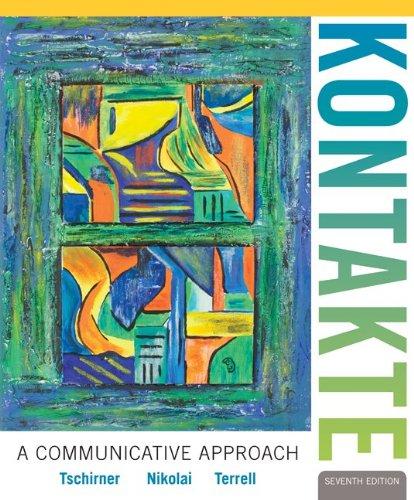 9780077410469: Audio CD Program for Kontakte