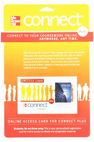 9780077410650: Connect 1-Semester Access Card for Fundamentals of Corporate Finance