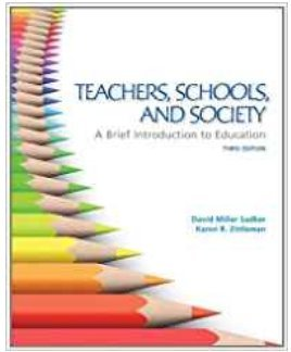 9780077411169: TEACHERS,SCHOOLS,+SOCIETY (TEX