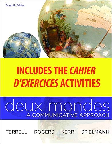 9780077412708: Wblm for Deux Mondes (Cahier d'Exercices)