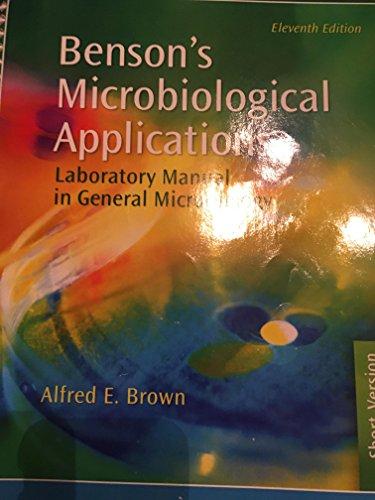 MICROBIOLOGY APPL: BENSON