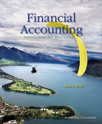 Loose-leaf Financial Accounting with IFRS FO Primer: Wild, John