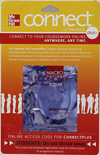Connect 1-Semester Access Card for Macroeconomics: Bradley Schiller