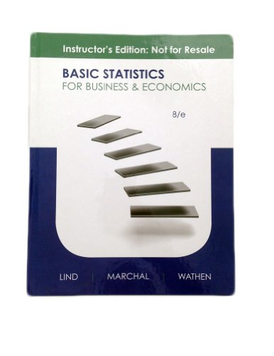 9780077416744: Basic Statistics for Business and Economics