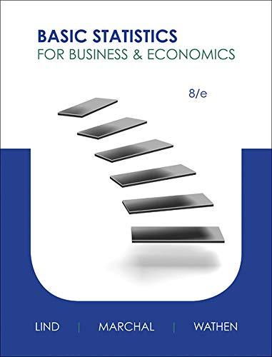 Loose-leaf Version Basic Statistics for Business & Economics: Lind, Douglas; Marchal, ...