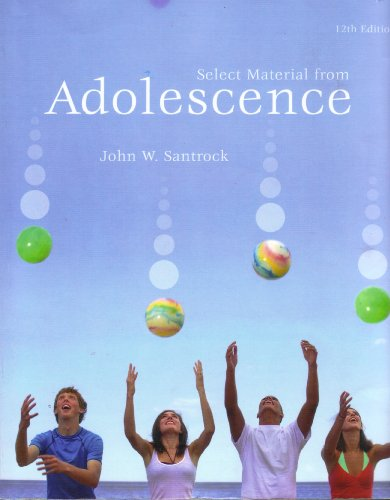 Select Material from ADOLESCENCE
