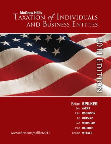 9780077420642: Loose-leaf Taxation of Individuals and Business Entities 2011 edition