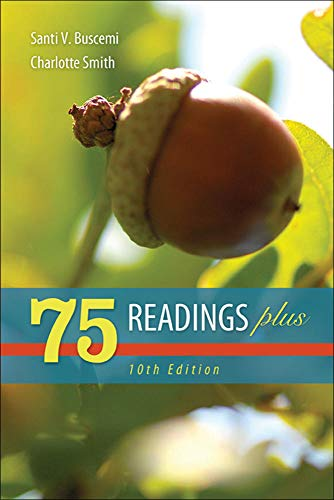 75 Readings Plus (Paperback): Charlotte Smith