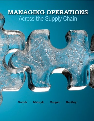 9780077426903: Managing Operations Across the Supply Chain (Includes CD)