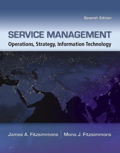 9780077426972: Service Management with Premium Content Access Card