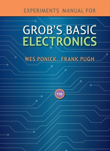 9780077427108: Experiments Manual to accompany Grob's Basic Electronics w/ Student CD