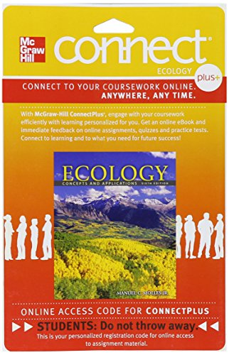 9780077427191: Connect Plus Access Card for Ecology