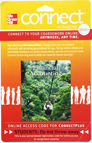 9780077429935: Connect Plus Accounting with LearnSmart 1-Semester Access Card for Financial Accounting: Information for Decisions
