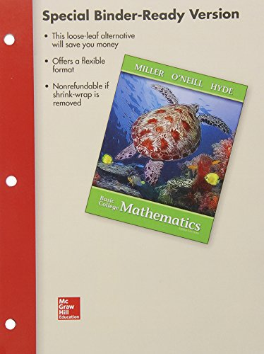 9780077431327: Loose Leaf Version for Basic College Mathematics