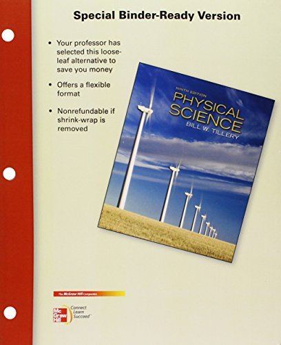 9780077431426: Loose Leaf Physical Science