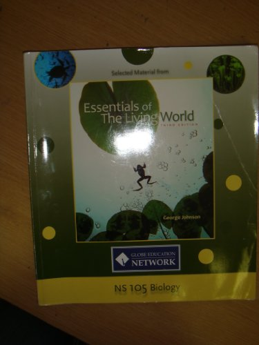 9780077432478: Selected Material From Essentials of The Living World Third Edition