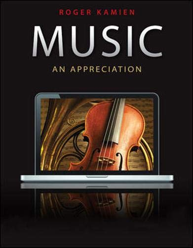 9780077433512: Music: An Appreciation, with 9-CD set