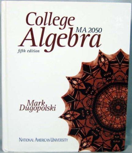9780077433727: College Algebra: MA 2050