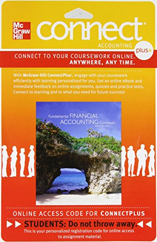 9780077433833: Connect 1-Semester Access Card for Fundamental Financial Accounting Concepts