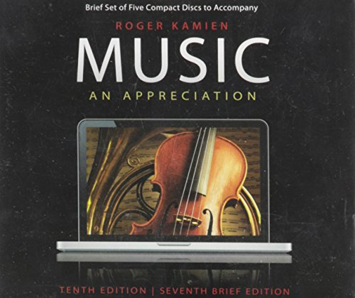 9780077435707: Music, an Appreciation (Tenth Edition, S