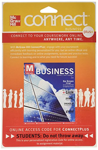 9780077436926: Connect Plus Business with LearnSmart 1 Semester Access Card for Business