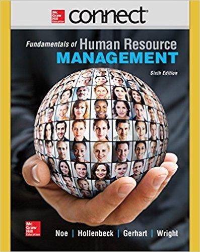 9780077437213: Connect Human Resource Management 1 Semester Access Card for Noe: Human Resource Management
