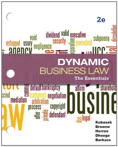 9780077437428: Loose-Leaf Business Law: The Essentials