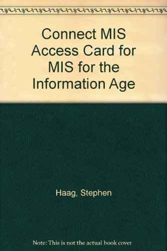 9780077437473: Connect MIS Access Card for MIS for the Information Age